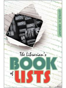 Image for The Librarian's Book of Lists