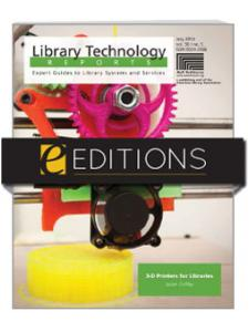 Image for 3-D Printers for Libraries—eEditions e-book