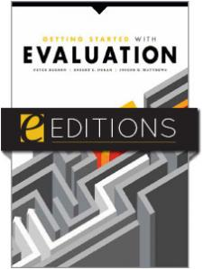 Image for Getting Started with Evaluation—eEditions e-book