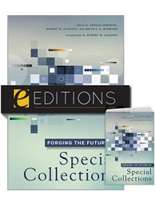 Image for Forging the Future of Special Collections — print/e-book Bundle