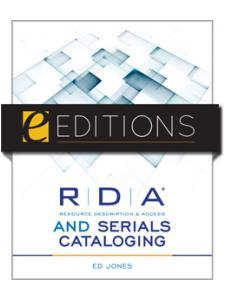 Image for RDA and Serials Cataloging--eEditions PDF e-book