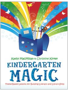book cover for Kindergarten Magic