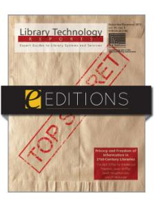 Image for Privacy and Freedom of Information in 21st-Century Libraries--eEditions e-book