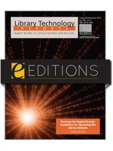 Image for Running the Digital Branch: Guidelines for Operating the Library Website--eEditions e-book