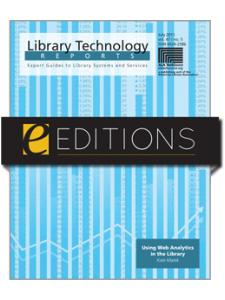 Image for Using Web Analytics in the Library--PDF e-book
