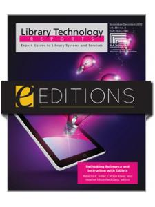 Image for Rethinking Reference and Instruction with Tablets--eEditions e-book