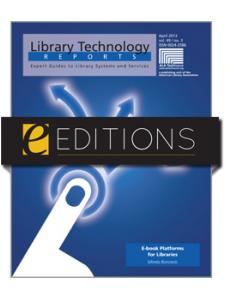 Image for E-book Platforms for Libraries--eEditions eBook