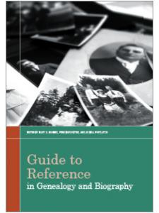Image for Guide to Reference in Genealogy and Biography