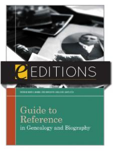 Image for Guide to Reference in Genealogy and Biography—eEditions e-book