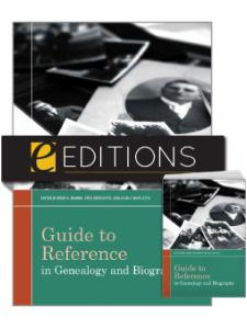 Image for Guide to Reference in Genealogy and Biography —print/e-book Bundle