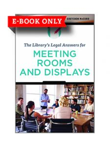 Image for The Library's Legal Answers for Meeting Rooms and Displays—eEditions e-book