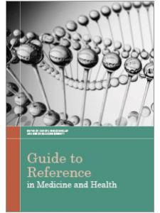 Image for Guide to Reference in Medicine and Health