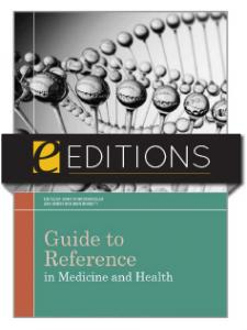 Image for Guide to Reference in Medicine and Health—eEditions e-book