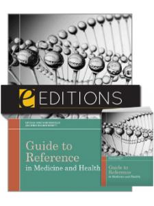 Image for Guide to Reference in Medicine and Health—print/e-book Bundle