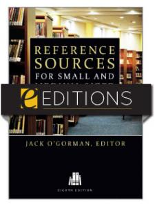 Image for Reference Sources for Small and Medium-sized Libraries, Eighth Edition—eEditions e-book