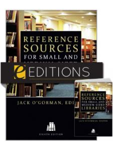 Image for Reference Sources for Small and Medium-sized Libraries, Eighth Edition—print/e-book Bundle