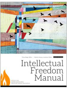 Image for Intellectual Freedom Manual, Ninth Edition
