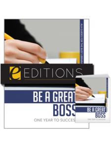 Image for Be a Great Boss: One Year to Success--print/e-book Bundle