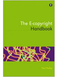 Image for The E-copyright Handbook