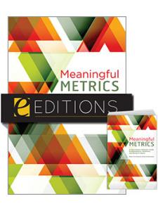 Image for Meaningful Metrics: A 21st Century Librarian's Guide to Bibliometrics, Altmetrics, and Research Impact—print/e-book Bundle