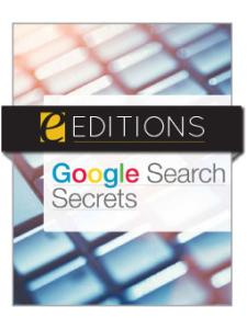 Image for Google Search Secrets—eEditions PDF e-book