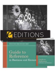 Image for Guide to Reference in Business and Economics —print/e-book Bundle