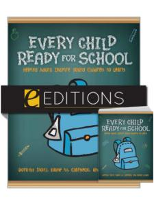 Image for Every Child Ready for School: Helping Adults Inspire Young Children to Learn—print/PDF e-book Bundle