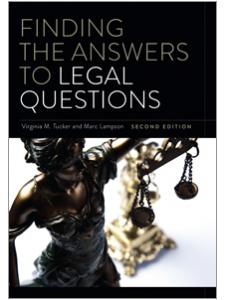 Image for Finding the Answers to Legal Questions, Second Edition
