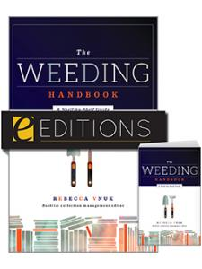 Image for The Weeding Handbook: A Shelf-by-Shelf Guide—print/e-book bundle