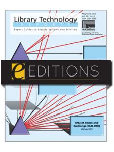 Image for Object Reuse and Exchange (OAI-ORE)--eEditions e-book