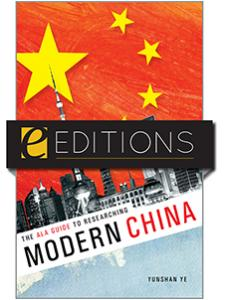 Image for The ALA Guide to Researching Modern China—eEditions e-book