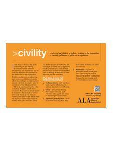 Image for Civility Diversity Training Card