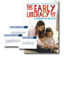 Image for The Early Literacy Kit: A Handbook and Tip Cards