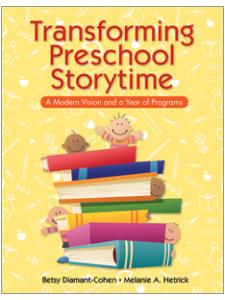 book cover for Transforming Preschool Storytime