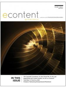 Image for eContent Quarterly, volume 1 issue 4