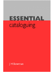 Image for Essential Cataloguing