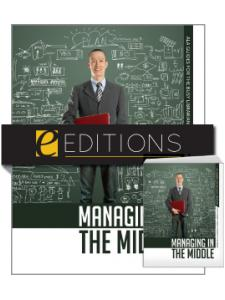 Image for Managing in the Middle--print/e-book Bundle