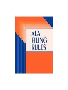 Image for ALA Filing Rules