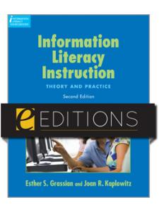Image for Information Literacy Instruction: Theory and Practice, Second Edition--eEditions e-book