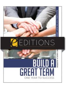 Image for Build a Great Team: One Year to Success--eEditions PDF e-book
