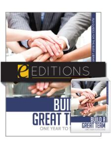 Image for Build a Great Team: One Year to Success--print/PDF e-book Bundle