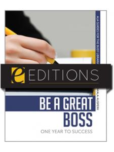 Image for Be a Great Boss: One Year to Success--eEditions PDF e-book
