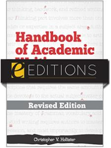 Image for Handbook of Academic Writing for Librarians—REVISED EDITION eEditions e-book