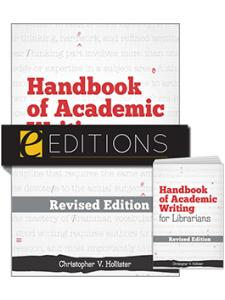 Image for Handbook of Academic Writing for Librarians—REVISED EDITION print/e-book bundle