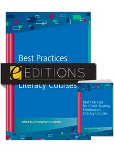 Image for Best Practices for Credit-Bearing Information Literacy Courses--print/e-book Bundle