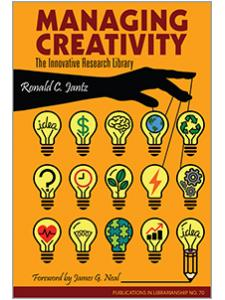 Image for Managing Creativity: The Innovative Research Library: PIL 70