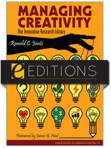 Image for Managing Creativity: The Innovative Research Library: PIL 70—eEditions e-book