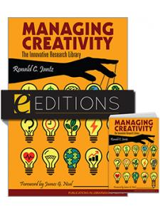 Image for Managing Creativity: The Innovative Research Library: PIL 70—print/e-book Bundle