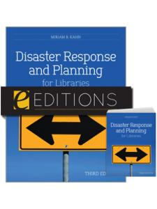 Image for Disaster Response and Planning for Libraries, Third Edition--print/e-book bundle