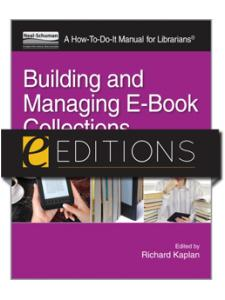 Image for Building and Managing E-Book Collections: A How-To-Do-It Manual for Librarians--eEditions PDF e-book